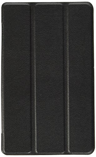 ELTD Lenovo TAB3 7 Essential / Lenovo Tab3 A7-10 Hülle Case - Ultra Schlank Smart Cover Tasche Schutzhülle Case für Lenovo TAB3 7 Essential / Lenovo Tab3 A7-10 mit Standfunktion, Schwarz