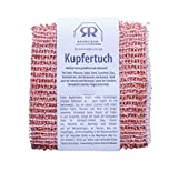 Bürstenhaus Redecker Kupfertuch, Kupferlappen 14 x 15 cm, 2er Pack