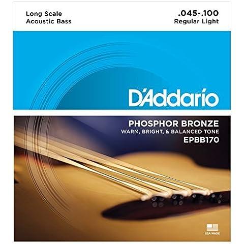 D'Addario EPBB170 Set Corde Basso Acustico