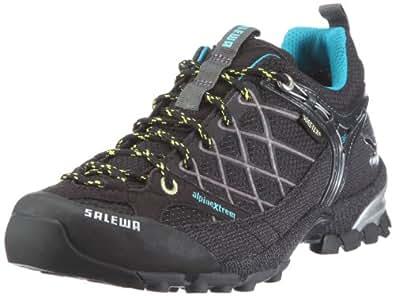 Salewa WS FiretailGTX 00-0000063111, Damen Trekking- & Wanderschuhe, Schwarz (Black/Lemon 0914), EU 38.5 (UK 5.5)