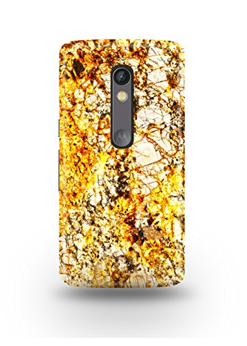 Moto X Play Cover,Moto X Play Case,Moto X Play Back Cover,Golden Marble Moto X Play Mobile Cover By The Shopmetro-12321