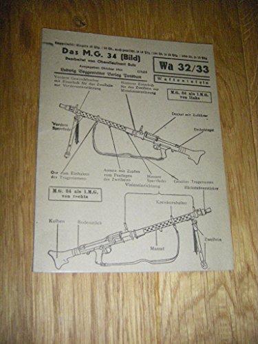 Das M. G. 34 (Bild) -