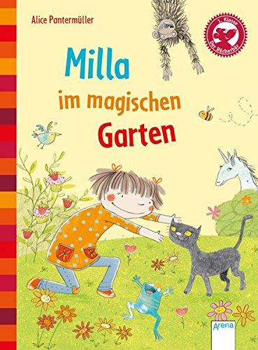 Milla im magischen Garten: Der Bücherbär: Eine Geschichte für Erstleser