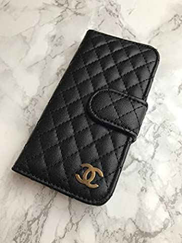 Quality Case UK - Apple iPhone 5 5S SE Hard Case Covers - LV GG Cases (C Purse Black)