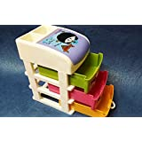 Art box JEWELLERY BOX Cum UTILITY BOX/DRAWERS multi things keeper 3 drawer set (medium)