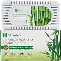 Sagano - El mejor absorbente de olores y purificador aire con carbon activo – Desodorante para el frigorífico y el armario con eficacia probada – Ambientadores hogar que quita olores