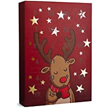 SIX Christmas Advent Calendar 24 Girls Jewellery Surprise Gifts