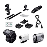 Sony HDR-AS200VB Full HD Actioncam Bike Mount Kit weiß