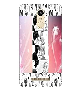 PrintDhaba Story Telling Picture D-2937 Back Case Cover for XIAOMI REDMI NOTE 3 (MEDIATEK) (Multi-Coloured)