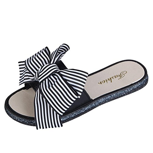 Elecenty sandali ciabatte elegante da donna fondo spesso sandali scarpe da spiaggia donne arco sandali estivi pantofola dentro fuori scarpe donna (eu:36cn:37, bianco)