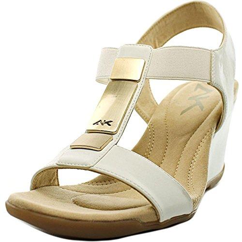 anne-klein-ak-loona-femmes-us-9-blanc-sandales-compenses