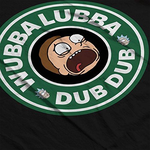Rick and Morty Wubba Lubba Dub Dub Coffee Women's Vest Black
