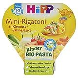 Hipp Bio Mini-Rigatoni in Gemüse-Sahnesauce, 250g