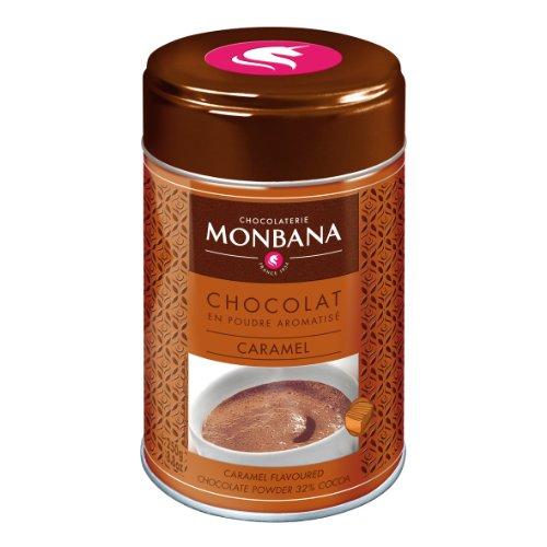 Monbana Chocolat Poudre Caramel 250g (min. 32% Cacao), 1er Pack (1x 250g)