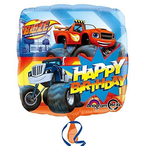 Unbekannt Anagram Blaze & The Monster Machines Happy Birthday Folien-Ballon (Einheitsgröße) (Bunt)
