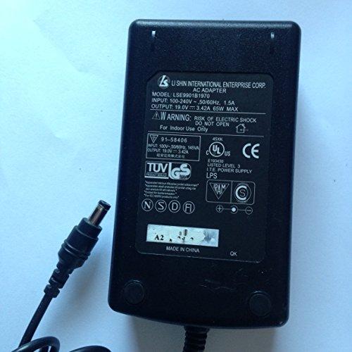 LI SHIN, 19.0V, 3.42A, 65W, LSE9901B1970, 5.5MM X 2.1MM TIP, Power supply for NEC MULTI SYNC 1700V LCD MONITOR, LOT REF 13