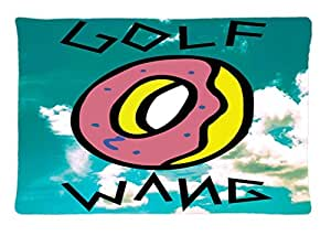 Odd Future Tyler Creator Earl Sweatshirt Golf Custom Pillowcase Rectangle Pillow Cases 20x30 Inches (one side) by Coco Pillowcase