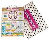 Mon Calendrier de aeioubaby.com est la meilleure manière pour les enfants d'apprendre tout ce qui est en relation avec le temps, tout en faisant de l'apprentissage un jeu. Ce calendrier magnétique coloré leur permet de se familiariser avec le...