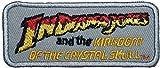 Indiana Jones und das Königreich des Kristallschädels-Abzeichen Aufnäher Patch Aufbügler Aufnäher 8.89 cm oder Aufbügeln