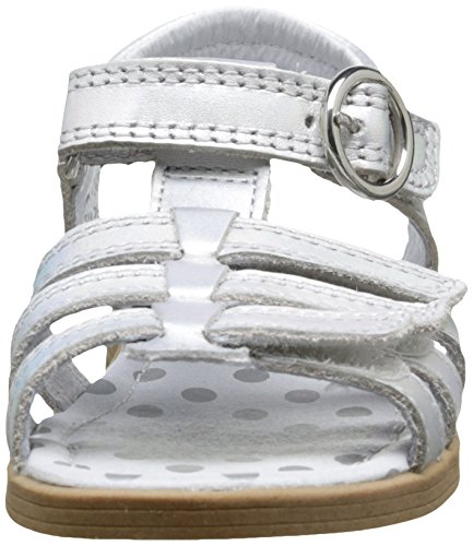 Start Rite Summer Shimmer, Sandales Fille Argent (Iridescent Silver)