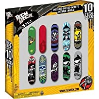 Tech Deck / 13816 / Packung mit 10-Finger-Skateboards