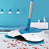 #8: TQWMUNew Designe And Easy Use Auto Spin Hand Push Sweeping Broom Floor Dust Cleaning Sweeper Cleaner Mop Tool