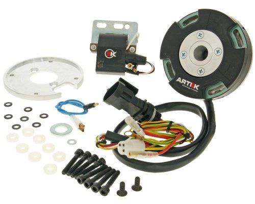 Interno accensione rotore ARTEK K1Racing Analog per Piaggio 03