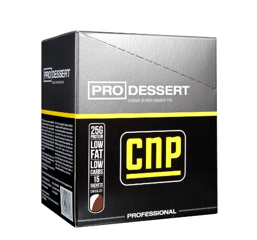 Dorian Yates CNP Professional ProDessert Instant Protein Pudding Mix, Chocolate, Single Serving Envelopes by Dorian Yates