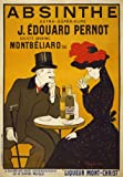 "AV59 Vintage 1900's French Absinthe Liqueur Drinks Advertisement Poster Re-Print - A4 (297 x 210mm) 11.7"" x 8.3"""