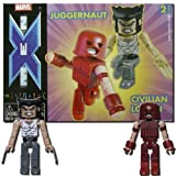 Marvel Minimates 5 Civilian Logan and Juggernaut by Art Asylum/Diamond...