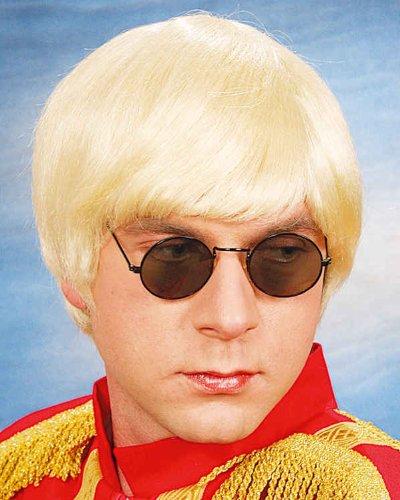 Orlob Herren Perücke Music Man Pilzkopf Bob zum Kostüm Karneval blond