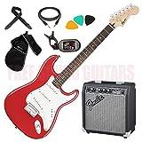 FENDER Squier Bullet Stratocaster HT + AMPLIFICATORE + TRACOLLA + CAVO + BORSA + ACCORDATORE + PLETTRI