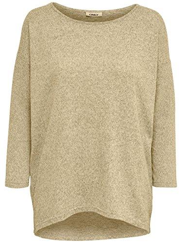 940034ee151a14 ONLY Damen Langarmshirt Onlelcos 4 5 Solid Top JRS Noos