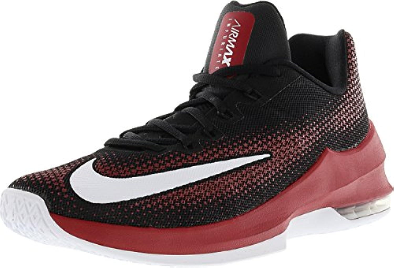 Nike Air Max Max Max Infuriate Low Scarpe Basket Uomo Nere Rosse - Rosso, 42 | La prima serie di specifiche complete per i clienti  | Gentiluomo/Signora Scarpa  747330