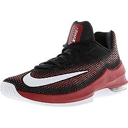 Nike - Zapatillas de Baloncesto de Material Sintético para Hombre Negro Black/Gym Red Negro Size: 42.5