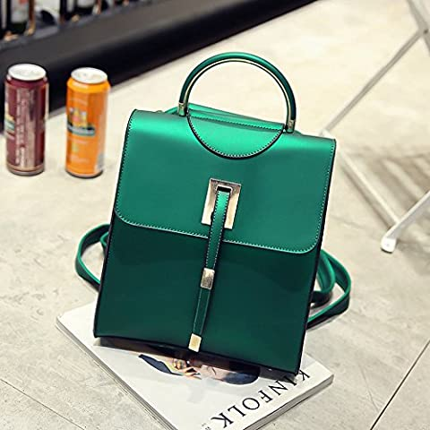 MAPLE-Backpack bag ladies fashion all-match college students wind small backpack,Green
