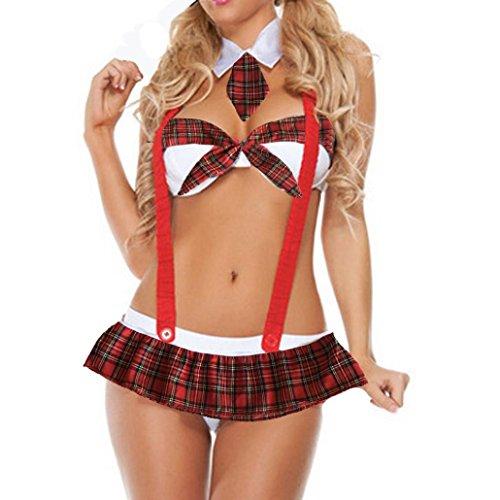 Mode Dessous Mädchen Uniformen Versuchung Sexy Unterwäsche Plus Größe Uniformen Versuchung Unterwäsche (XXXL)