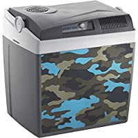 Mobicool K26 AC/DC Thermo-Electric Cool Box, Camo Grey/Blue