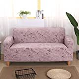 QINQIN Europäischen Stil Blume Sofabezug Stretch,All-Inclusive Einfache dreiköpfige Sofabezug Volle Deckung-Couch- 24-55in
