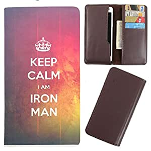DooDa - For HTC Explorer A10E PU Leather Designer Fashionable Fancy Case Cover Pouch With Card & Cash Slots & Smooth Inner Velvet