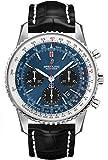 Breitling Navitimer 1 B01 AB0121211C1P1 - Reloj cronógrafo 43 para Hombre, Esfera Azul