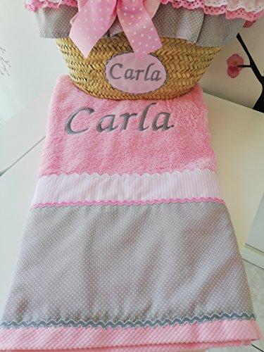 Conjunto cesta y toalla