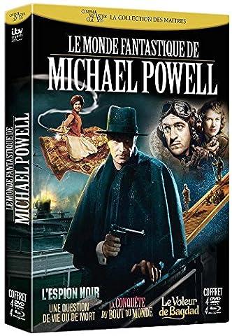 Le Monde fantastique de Michael Powell : L'espion noir / Une question de vie ou de mort / La conquête du bout du monde / Le voleur de bagdad [Blu-ray + DVD] [Combo Blu-ray +