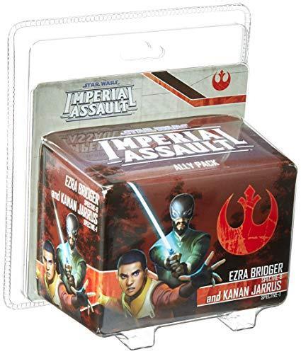Fantasy Flight Games FFGSWI55 Ezra Bridger und Kanan Jarrus Ally Pack: Star Wars Imperial Assault, ()