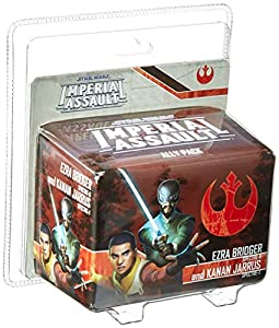 Fantasy Flight Games FFGSWI55 Ezra Bridger and Kanan Jarrus Ally Pack: Star Wars Imperial Assault, Multicolor