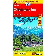 ADFC-Radtourenkarte 27 Chiemsee / Inn 1:150.000, reiß- und wetterfest, GPS-Tracks Download (ADFC-Radtourenkarte 1:150000)