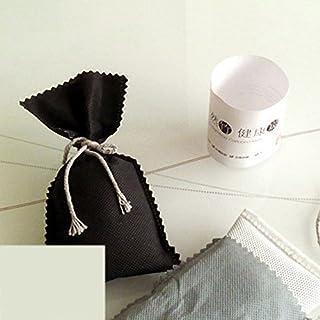 Dimart Activated Carbon Natural Bamboo Charcoal Deodorizer Bag Effective Air Freshener Odor Eliminator for Car & Home - 2 Packs x 50g