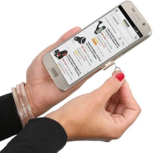 Wicked Chili Dual Sim Stanze und 4in1 Sim Karten Adapter Set (Nano, Micro, Standard, Eject Pin) für Handy, Smartphone und Tablet - 7
