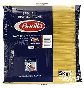 Barilla Hartweizen Pasta Spaghetti n. 5 - 1er Pack (1x5kg)