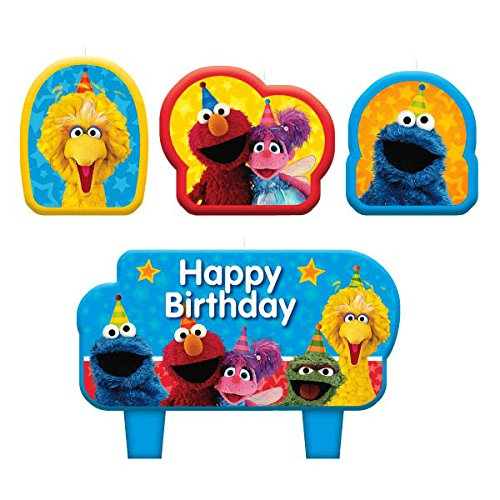 Sesamstraße Geburtstagskerzen